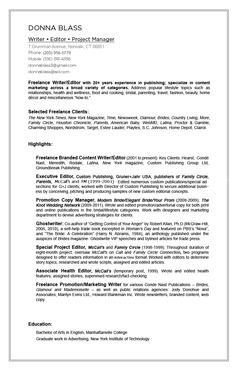 donna-blass-resume